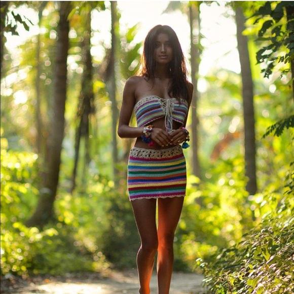 ce534db8ed Andi Bagus Dresses   Skirts - Andi Bagus daisy chain skirt tube top Set XS